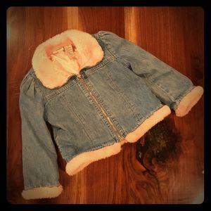 Vintage toddler jean jacket